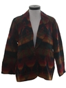 Womens Totally 80s Southwestern Blazer Coat Jacket
