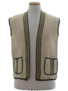 Unisex Wool Hippie Vest