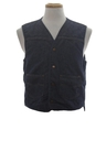 Mens Denim Vest