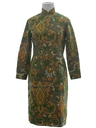Womens Cheongsam Dress