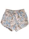 Mens Reverse Print Swim Shorts