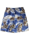 Womens Wicked 90s Hawaiian Shorts