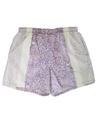Mens Reverse Print Hawaiian Swim Shorts