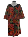 Womens Hippie Muu Muu Dress