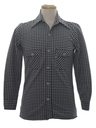 Mens Mod Knit Shirt Jacket