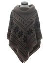 Womens Hippie Poncho Jacket