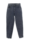 Womens Totally 80s Stonewashed Jeans Pants