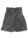 Womens Totally 80s Stone Washed Jeans Shorts