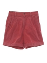Womens Op Style Corduroy Shorts