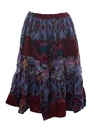 Womens Southwestern Style Skirt