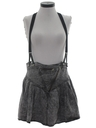 Womens Totally 80s Denim Skirt