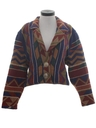 Womens Totally 80s Western Style Jacket