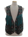 Womens Fringed Hippie Vest