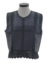 Womens Totally 80s Suede Vest