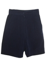 Womens Suede Totally 80s Shorts
