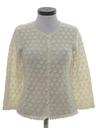 Womens Mod Cardigan Sweater