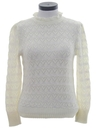 Womens Mod Knit Sweater Shirt
