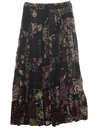Womens Patchwork Hippie Skirt