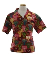 Mens Hawaiian Inspired Hippie Shirt