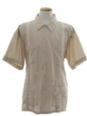 Mens Guayabera Styled Shirt