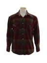 Mens Western Flannel Shirt