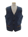 Mens Hippie Denim Vest