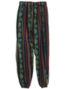 Mens Baggy Guatemalan Pineapple Express style Hippie Pants