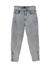 Womens Acid Washed Skinny Leg Denim Jeans Pants