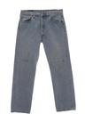 Mens Stone Washed Levis 501 Straight Leg Denim Jeans Pants