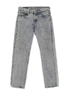Mens Acid Washed Levis 501 Straight Leg Denim Jeans Pants