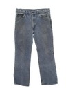 Mens Stone Washed Levis 517 Denim Jeans Pants