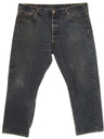 Mens Levis 501xx Straight Leg Shrink To Fit Denim Jeans Pants