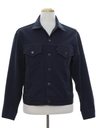 Mens Denim Style Leisure Jacket