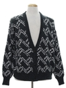 Mens Totally 80s Cardigan Sweater