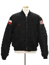 Mens Reversible Bomber Style Jacket
