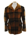 Mens Wool Western Style Coat Jacket