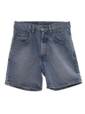 Womens Totally 80s Denim Jeans Jorts Shorts