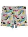 Mens Totally 80s Print Baggy Shorts