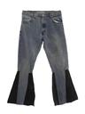Mens Levis 517 Bellbottom Leather Jeans Pants