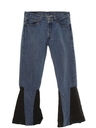 Mens Levis 501 Bellbottom Leather Jeans Pants