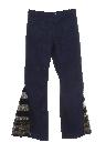 Mens Elephant Bellbottom Jeans Pants