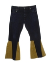 Mens Levis 517 Bellbottom Leather Jeans Pants