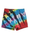 Womens Levis 912 Tie Dyed Denim Shorts