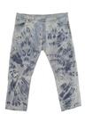 Mens Levis 501 Tie Dyed Acid Washed Jeans Pants