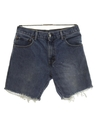 Mens Levis 517 Cut-Off Denim Jeans Shorts