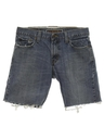 Mens Levis 527 Cut-Off Denim Jeans Shorts