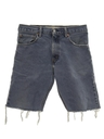 Mens Levis 517 Denim Cut-Off Jeans Pants