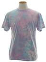 Unisex Short Sleeve Tie Dye T-Shirt
