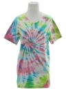 Womens Tie Dye T-Shirt