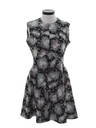Womens Flower Power Knit Dress